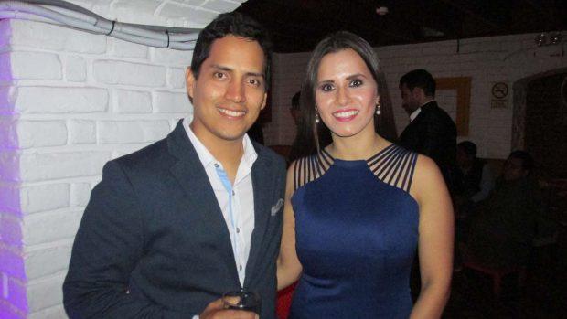 Walter Muñoz y ALejandra Ibañez, organizadores de Social Business en Ayahuasca Restobar