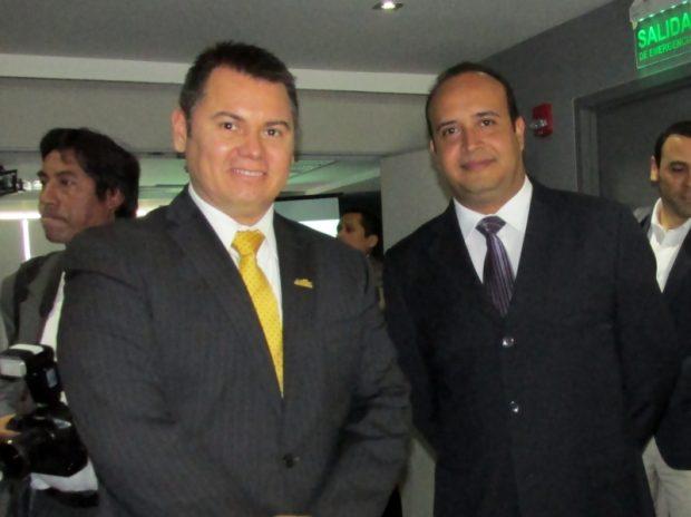 (Lado Derecho) Jorge Urbina ,Gerente de Exportaciones -ADEX